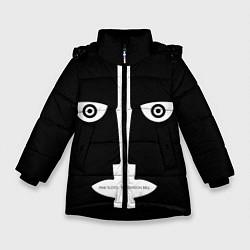 Куртка зимняя для девочки Pink Floyd The division bell цвета 3D-черный — фото 1