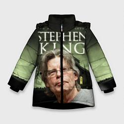Детская зимняя куртка для девочки с принтом Bestselling Author, цвет: 3D-черный, артикул: 10095786806065 — фото 1