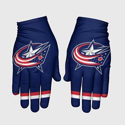 Перчатки Columbus Blue Jackets цвета 3D — фото 1