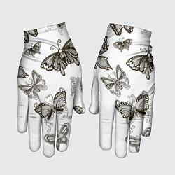 Перчатки Boudoir Collection цвета 3D-принт — фото 1