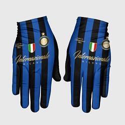 Перчатки Internazionale Milano цвета 3D-принт — фото 1