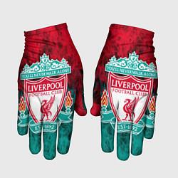 Перчатки LIVERPOOL цвета 3D — фото 1