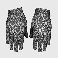 Перчатки Гламурный узор