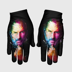 Перчатки Стив Джобс цвета 3D — фото 1
