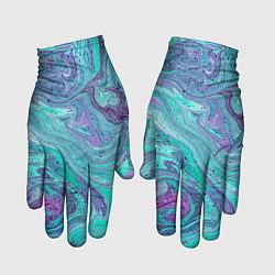 Перчатки Смесь красок цвета 3D — фото 1