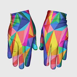 Перчатки Радуга цвета 3D — фото 1