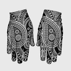 Перчатки Paisley цвета 3D — фото 1