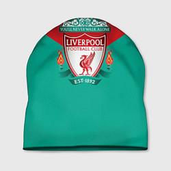 Шапка Liverpool: Green style цвета 3D — фото 1