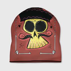 Шапка Dia de los Muertos цвета 3D-принт — фото 1