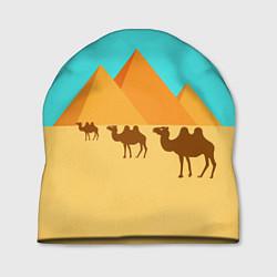 Шапка Пирамиды Египта цвета 3D — фото 1