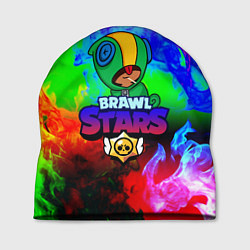 Шапка BRAWL STARS LEON цвета 3D-принт — фото 1