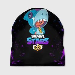 Шапка BRAWL STARS LEON SHARK, цвета 3D — фото 1