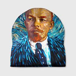 Шапка Ленин Ван Гога цвета 3D-принт — фото 1