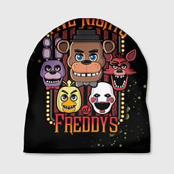 Шапка Five Nights At Freddy's цвета 3D-принт — фото 1