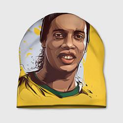 Шапка Ronaldinho Art цвета 3D-принт — фото 1