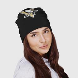 Шапка Pittsburgh Penguins: Malkin цвета 3D-принт — фото 2
