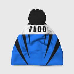 Шапка с помпоном Judo Fighter цвета 3D-черный — фото 1