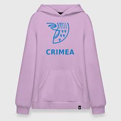 Толстовка-худи оверсайз Crimea