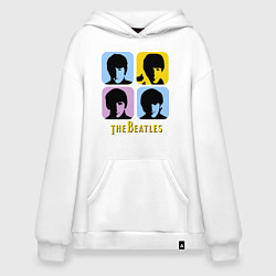 Худи оверсайз The Beatles: pop-art