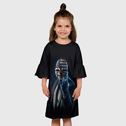 Платье клеш для девочки Payday Rock цвета 3D — фото 2