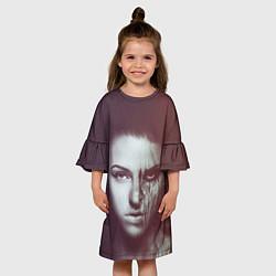 Платье клеш для девочки Chelsea Grin: Death Girl цвета 3D — фото 2