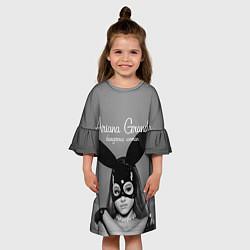 Платье клеш для девочки Ariana Grande: Rabbit цвета 3D — фото 2