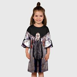 Платье клеш для девочки Moby in Underground цвета 3D — фото 2