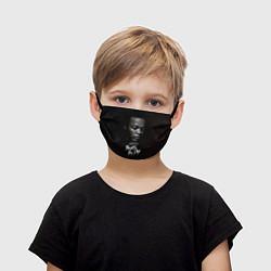 Маска для лица детская Dr. Dre: 100% Beats цвета 3D-принт — фото 1