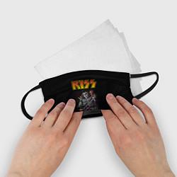 Маска для лица детская KISS: Gene Simmons цвета 3D — фото 2