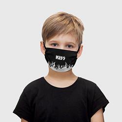 Маска для лица детская Kiss цвета 3D — фото 1