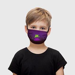 Маска для лица детская ATL цвета 3D-принт — фото 1