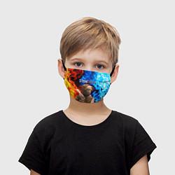 Маска для лица детская STANDOFF 2 цвета 3D — фото 1
