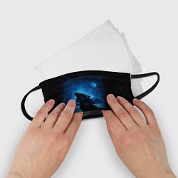 Маска для лица детская GODZILLA цвета 3D-принт — фото 2
