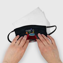 Маска для лица детская AMONG US цвета 3D — фото 2