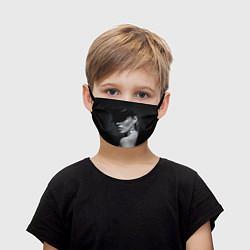 Детская маска для лица Девушка в шляпе