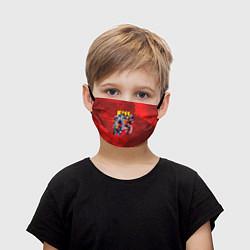 Маска для лица детская KISS: Hot Blood цвета 3D — фото 1