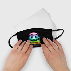 Маска для лица детская Панда космонавт цвета 3D — фото 2