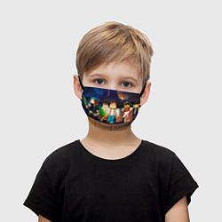 Детская маска для лица Minecraft Men's