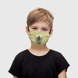 Маска для лица детская Имперская русь цвета 3D — фото 1