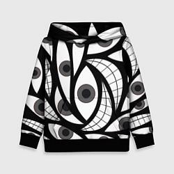 Толстовка-худи детская Alchemist Eyes цвета 3D-черный — фото 1