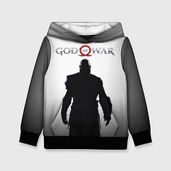 Толстовка-худи детская God of War: Kratos цвета 3D-черный — фото 1