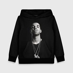 Толстовка-худи детская Drake цвета 3D-черный — фото 1
