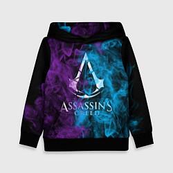Толстовка-худи детская Assassin's Creed цвета 3D-черный — фото 1