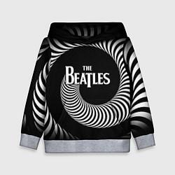 Толстовка-худи детская The Beatles: Stereo Type цвета 3D-меланж — фото 1