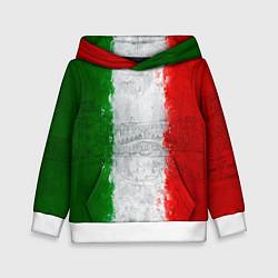 Толстовка-худи детская Italian цвета 3D-белый — фото 1