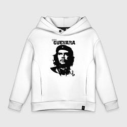 Толстовка оверсайз детская Che Guevara цвета белый — фото 1