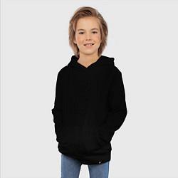 Толстовка детская хлопковая Армия мурашей цвета черный — фото 2