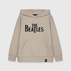 Толстовка детская хлопковая The Beatles цвета миндальный — фото 1