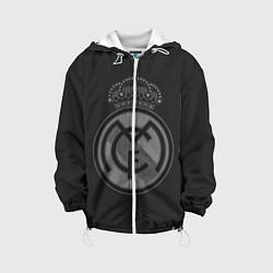 Куртка с капюшоном детская Real Madrid цвета 3D-белый — фото 1