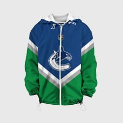 Куртка с капюшоном детская NHL: Vancouver Canucks цвета 3D-белый — фото 1